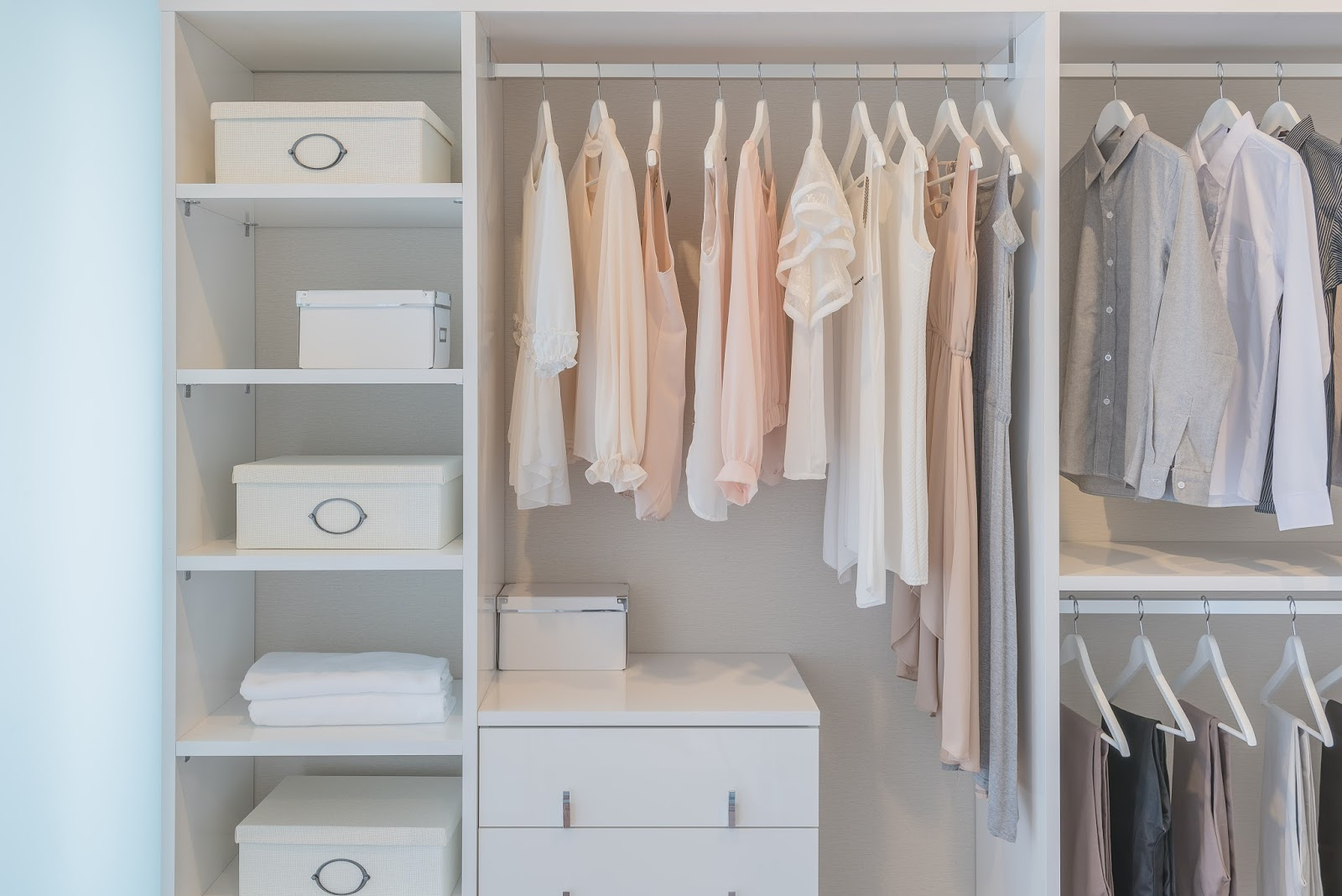 tips voor een georganiseerde kleerkast