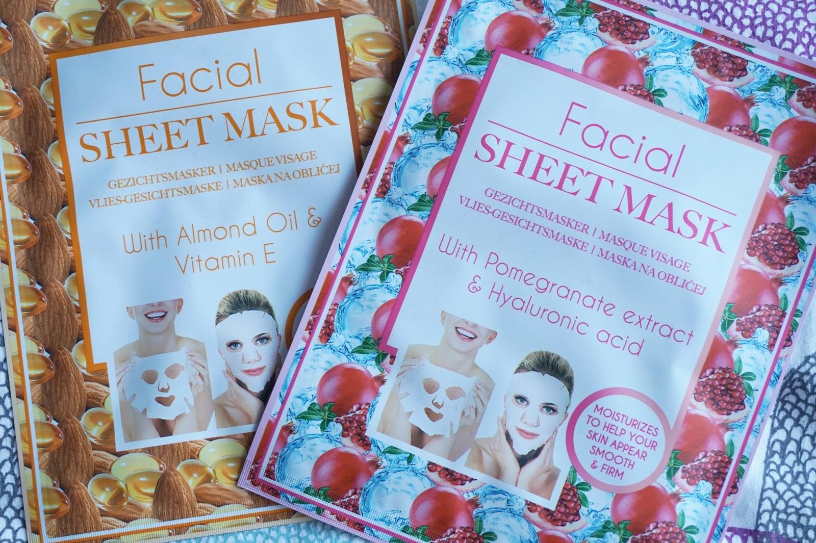 action facial sheet masks review