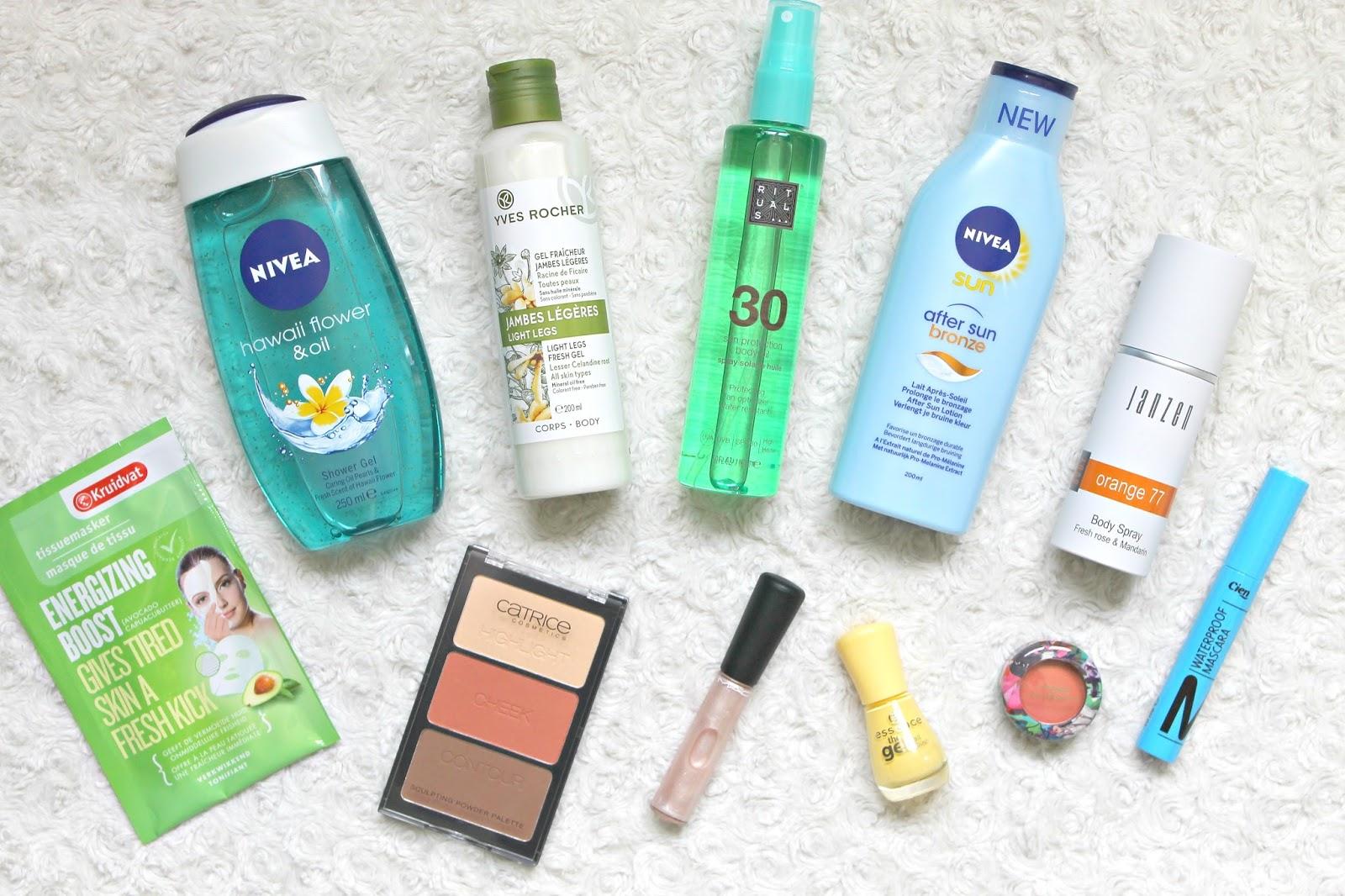Win een zomers beautypakket