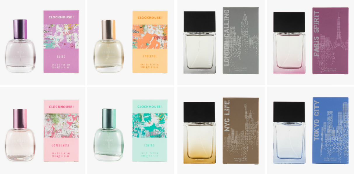 c&a clockhouse parfum collectie