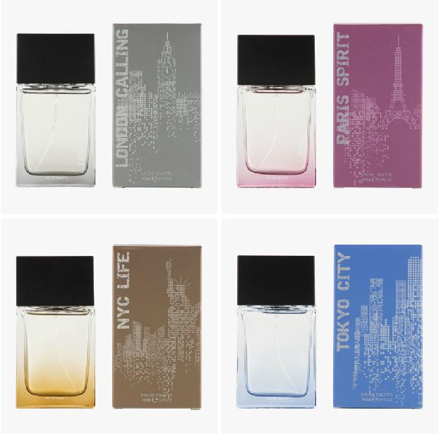 c&a clockhouse parfum londen calling paris spirit nyc life tokyo city