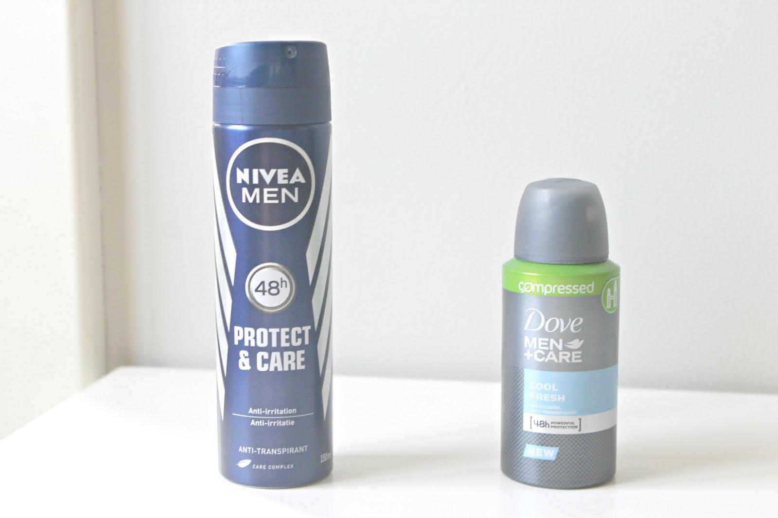 nivea men deodorant protect & care dove men care deodorant cool fresh