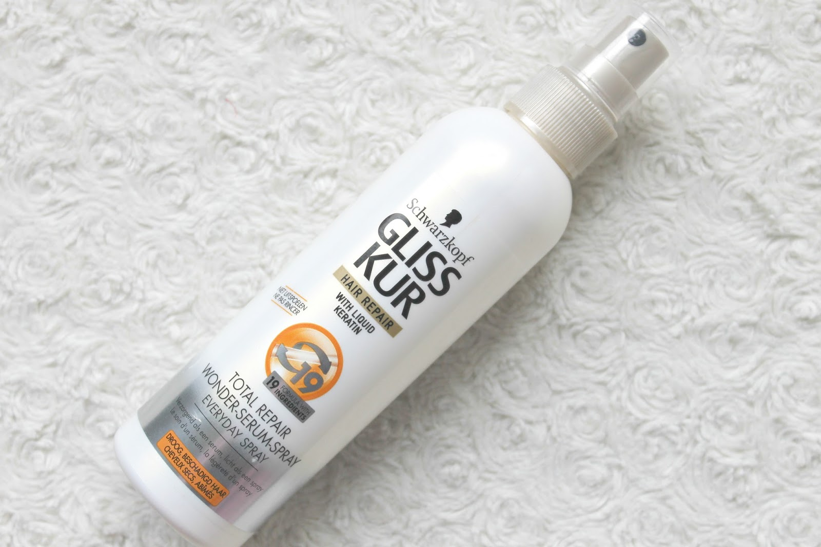 gliss kur total repair wonder serum spray