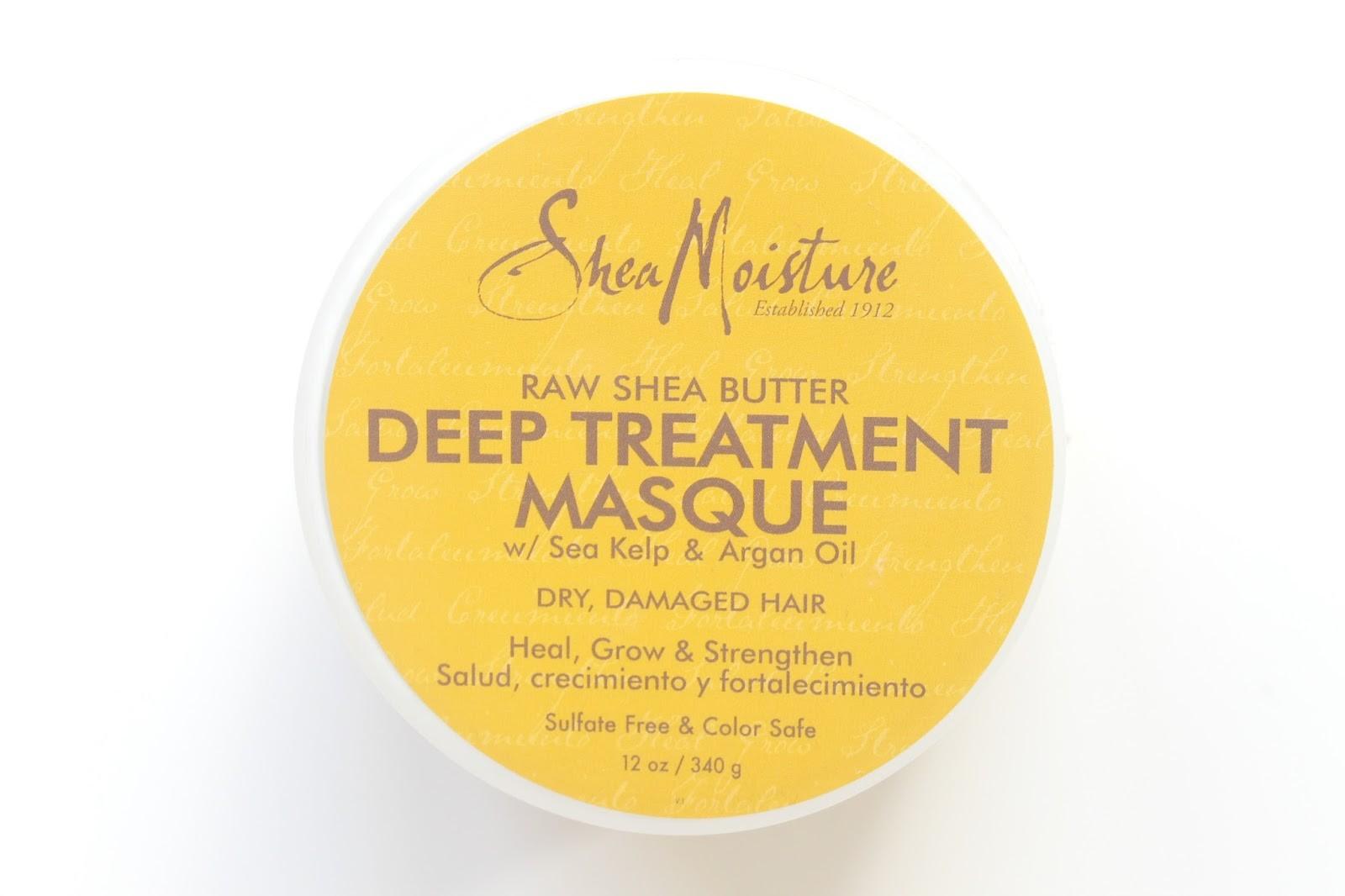 shea moisture deep treatment masque haarmasker shea butter arganolie