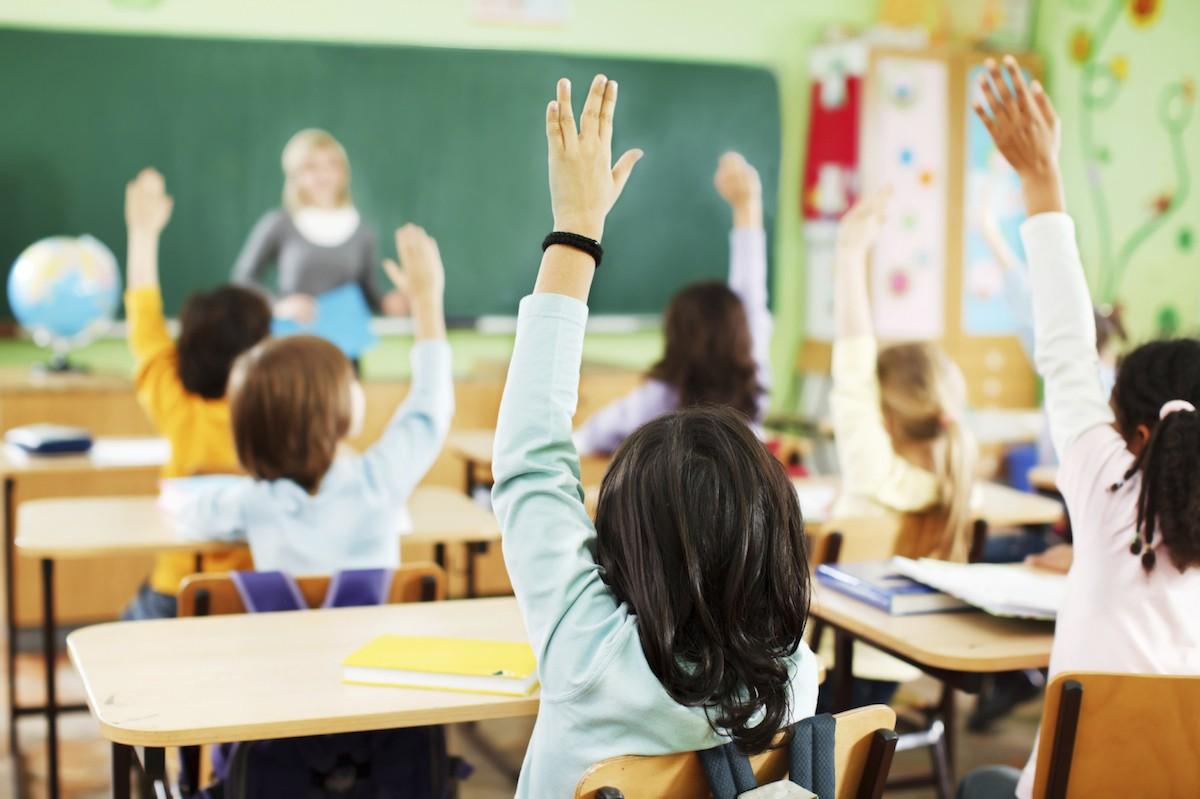 kinderen in klas