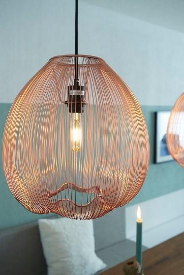 koperen lampen verlichting trends 2017