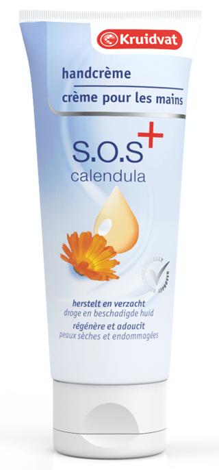 kruidvat sos handcrème calendula