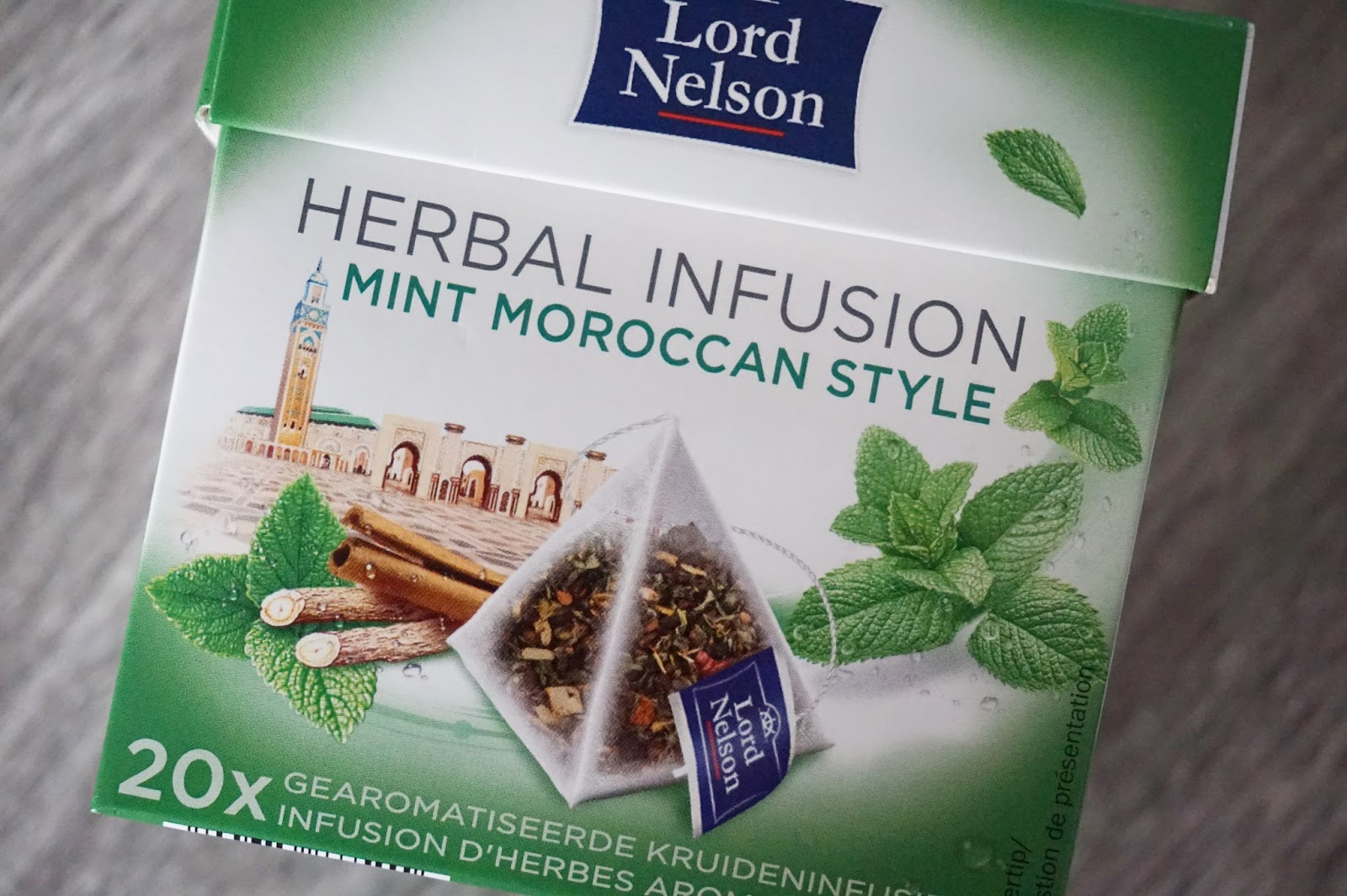 lord nelson herbal infusion mint moroccan style thee lidl