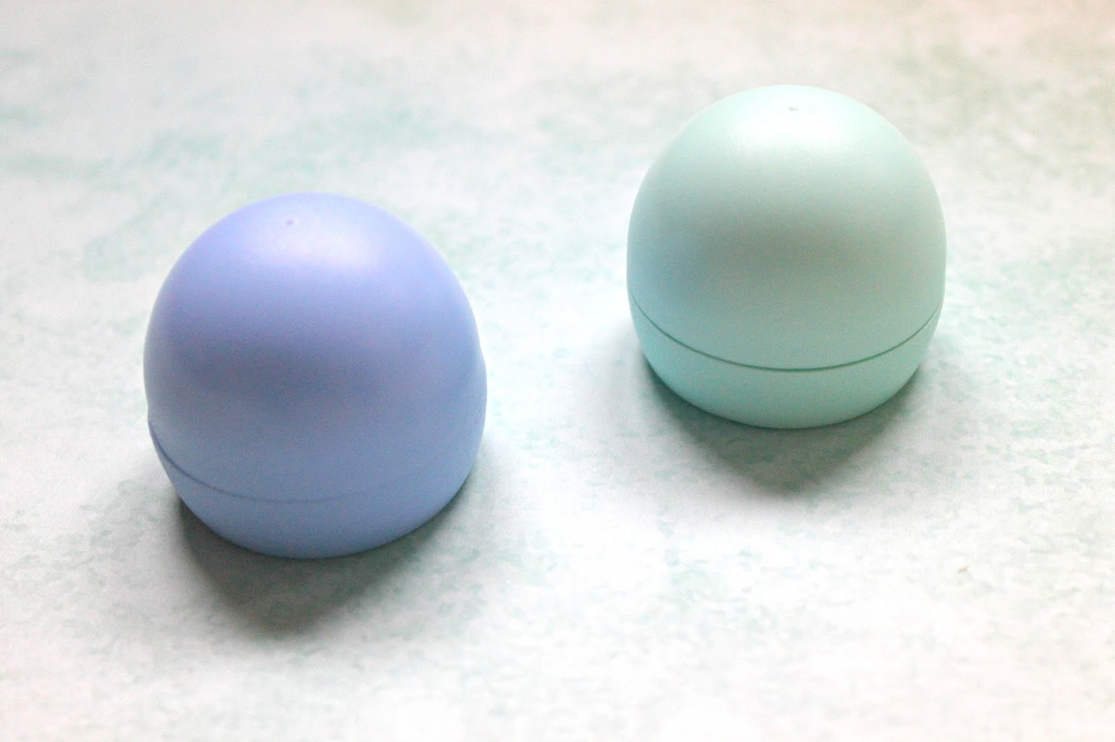 review max & more lipbalm blueberry vanilla eos dupes