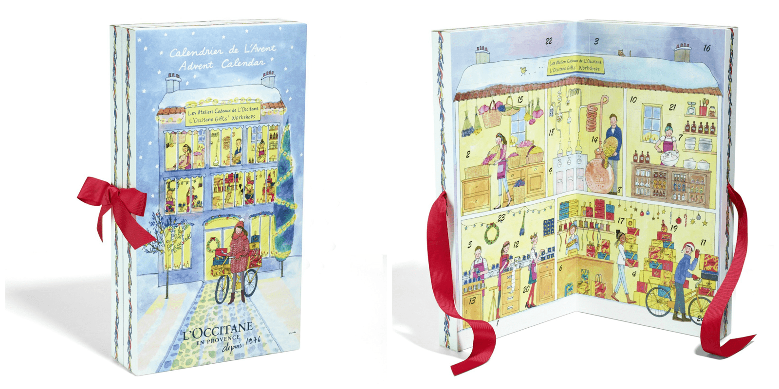 l'occitane adventskalender 2016