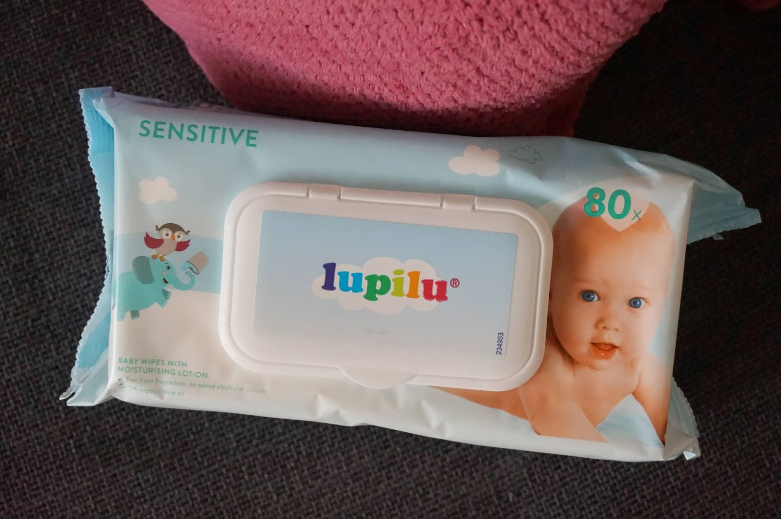 lidl lupilu sensitive baby wipes