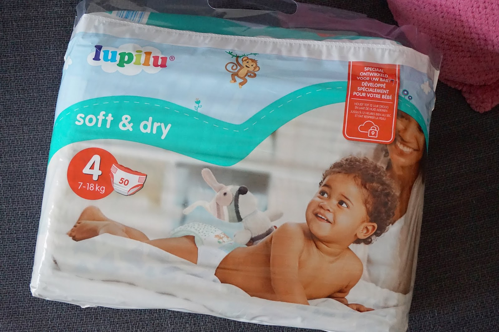 lidl lupilu soft & dry luiers