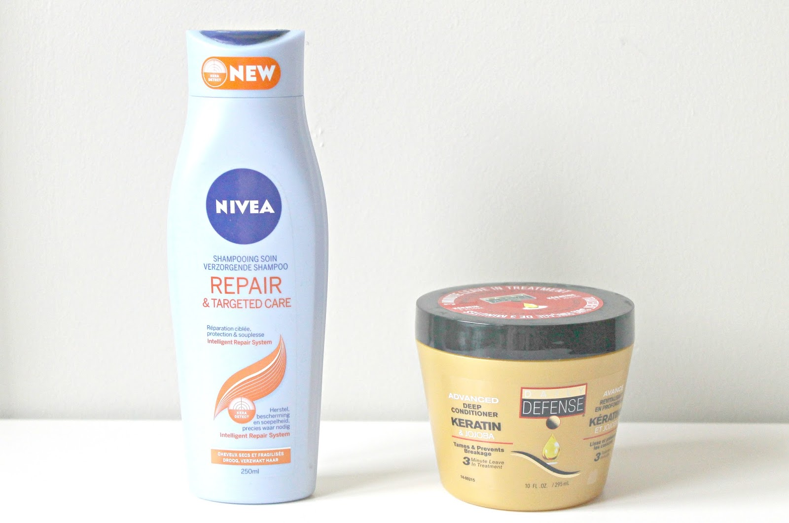 nivea repair & targeted care shampoo action haarmasker daily defense