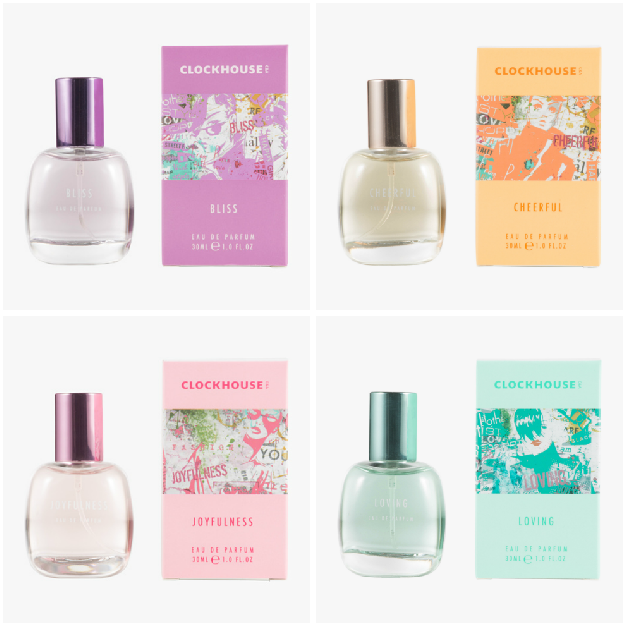c&a clockhouse parfum bliss cheerful joyfulness loving