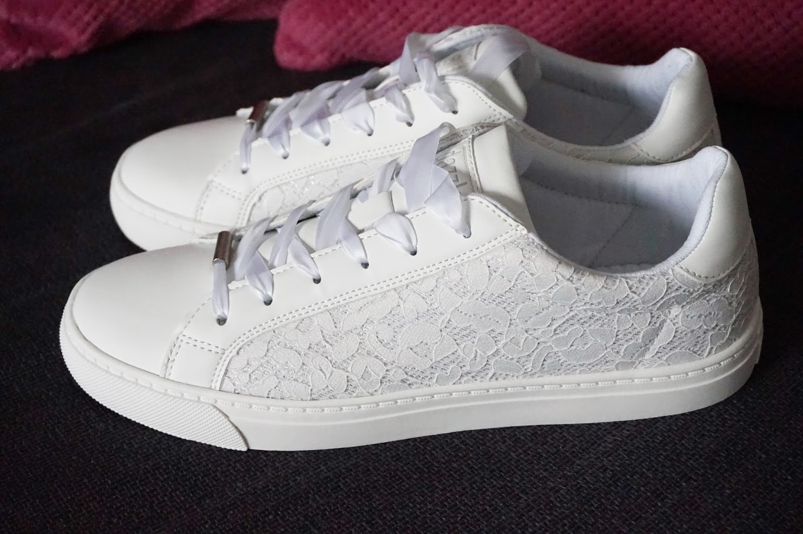 dazzle witte sneakers torfs