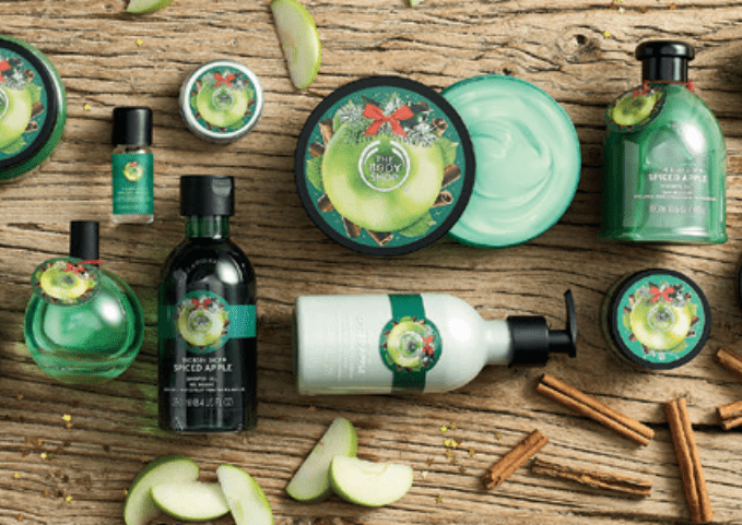 the body shop kerstcollectie 2016 spiced apple