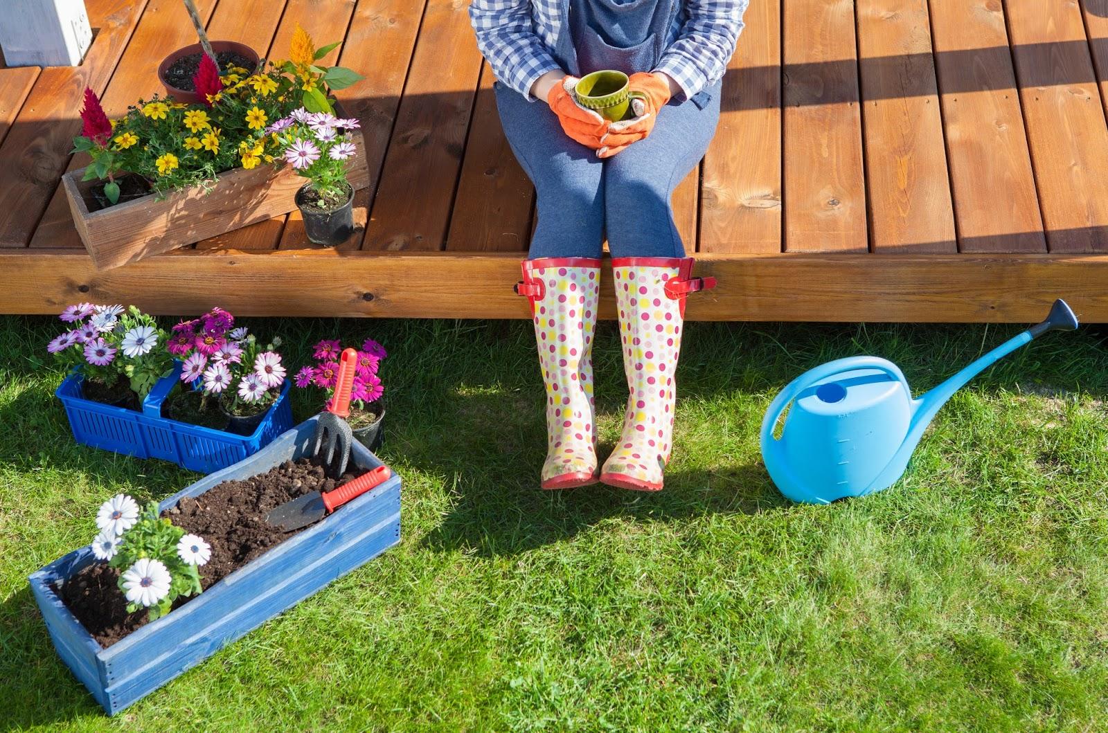 tuin lente proof maken
