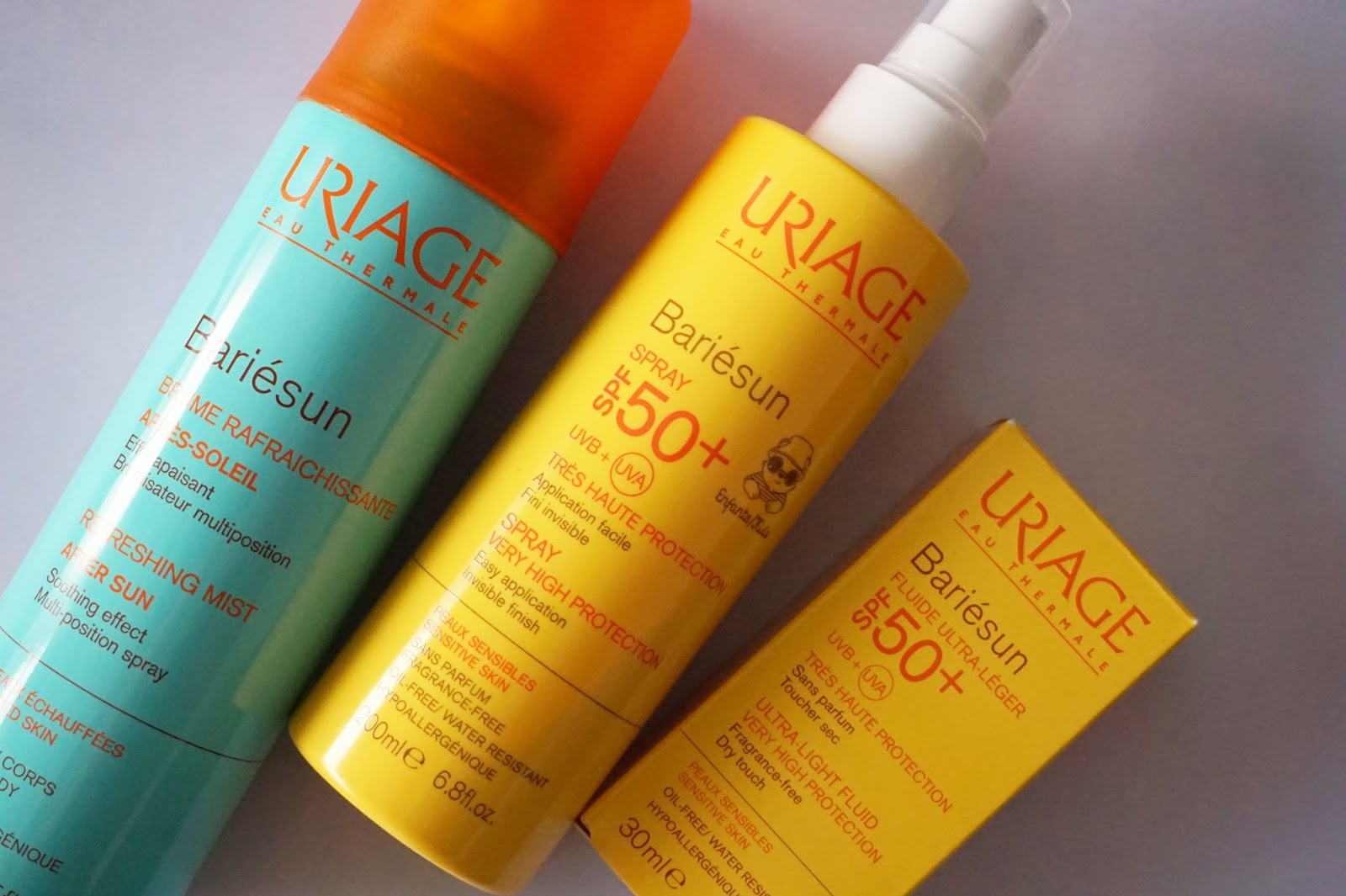 uriage bariesun after sun spray fluid
