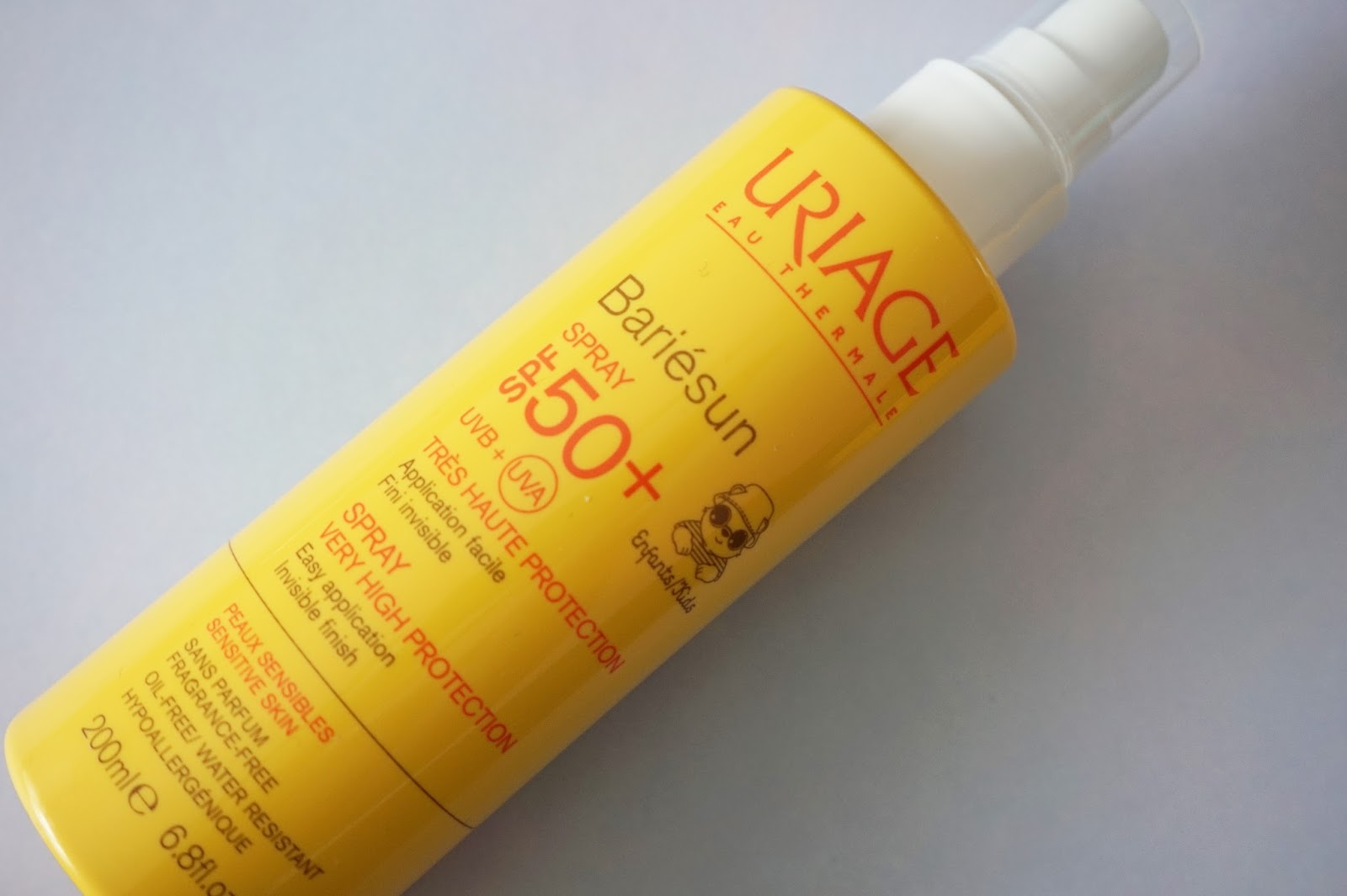 uriage bariesun spray SPF50