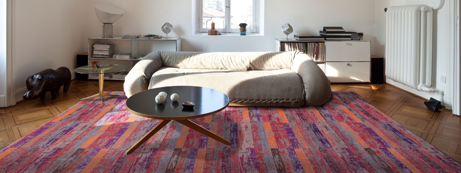 design vloerkleden van louis de poortere