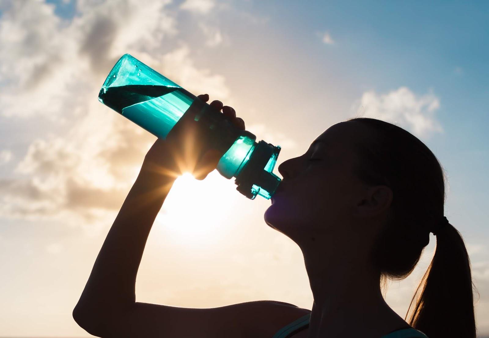 meer water drinken
