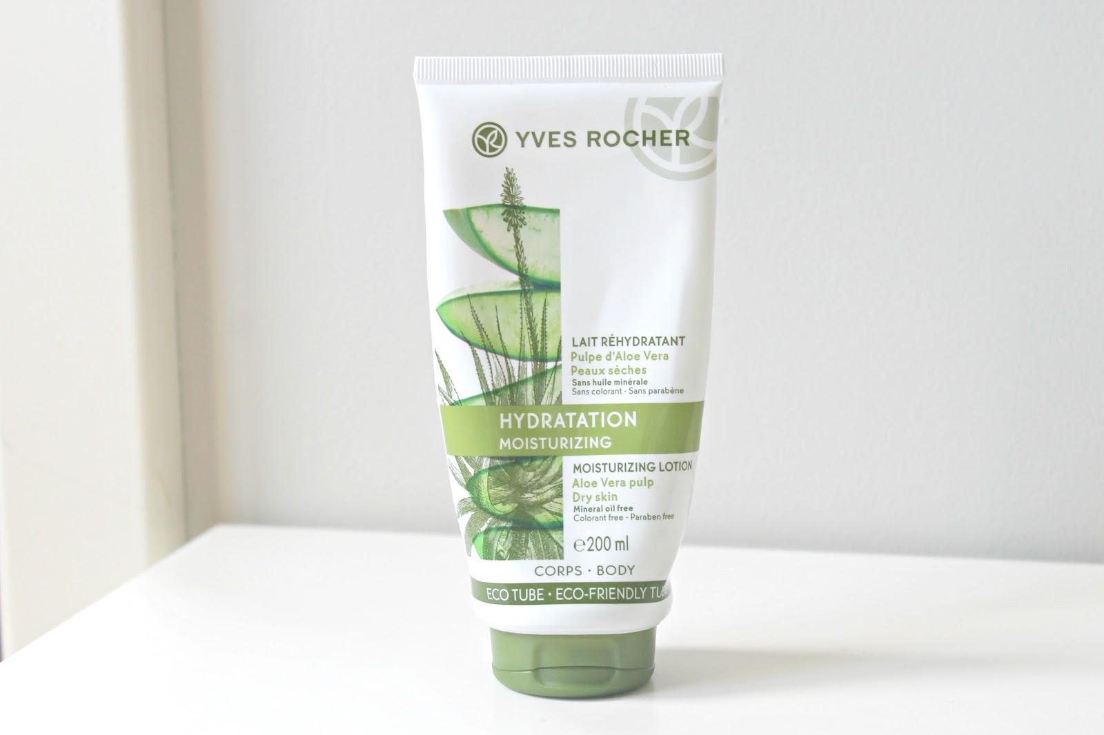 yves rocher hydratation moisturizing lotion aloe vera hydraterende bodymilk